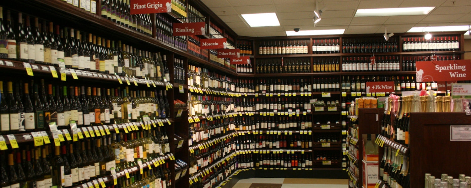 Wine display fixtures & walls