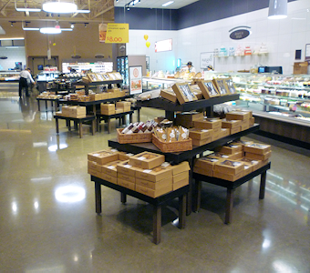 bakery fixtures and islands