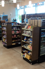 Deli counters & retail fixtures