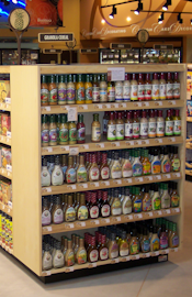 Grocery, candy or coffee displays - retail store fixtures, merchandising displays