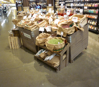 grocery bulk displays and fixtures